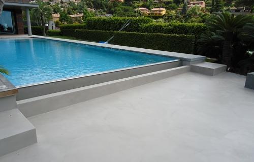 piscinas de microcemento